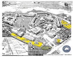 San Jose State Campus Map by El Camino Campus Map My Blog