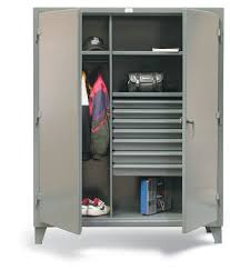 Cabinets With Locking Doors by Strong Hold Products Industrial Storage Cabinets