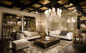 the new showroom of roberto cavalli home interiors in london