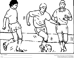 easy to color free football players coloring pages free coloring