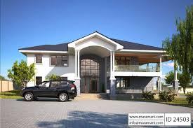 villa plan 4 bed contemporary villa plan id 24503 villa plans maramani com