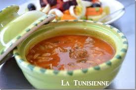 cuisine tunisienne chorba tunisienne aux langues d oiseau lsen asfour