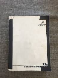 fs 2007 acura tl service manual official oem acurazine