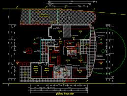 house plans cad wondrous ideas 8 drawing with autocad floor plan