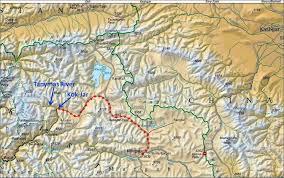 Tajikistan Map Tajikistan Pamir Tanymas River 2010
