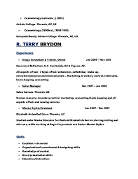 Resume Examples For Physical Therapist by Cosmetology Resume Template Pinterest The World39s Catalog Of
