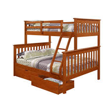 Espresso Twin Bed With Trundle Dallan Twin Over Full Bunk Bed Espresso