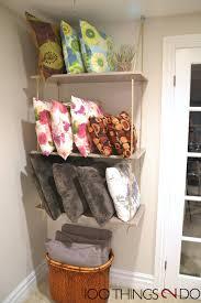 max studio home decorative pillow throw pillow storage diy shelves pillow storage