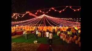 beautiful u0026 decorated wedding reception pandal in kolkata youtube