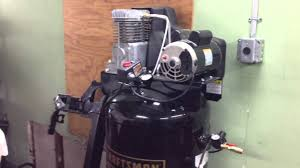 craftsman air compressor broken youtube