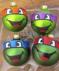 mutant turtle ornaments by colacerise on
