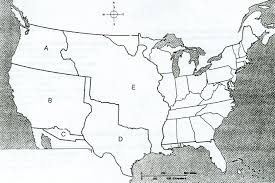Blank United States Map Quiz by Us History Practice Test