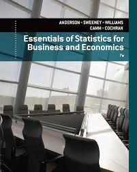 essentials of statistics for business and economics david r