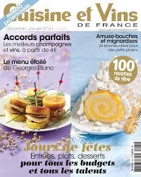 cuisine et vins de magazine décembre 2014 janvier 2015 cvf n 161