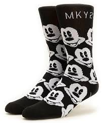 neff x disney mickey crew socks zumiez