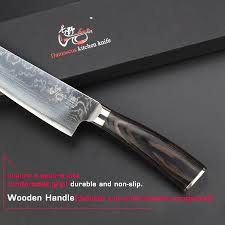 damascus kitchen knives haoye 8 inch damascus kitchen knives japanese stainless steel