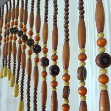Beaded Home Decor Spectacular Wood Door Beads 34 For Home Decor Ideas With Wood Door