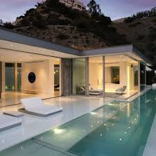 exterior home design instagram sleek chic modernpools modernhomes posh private pools