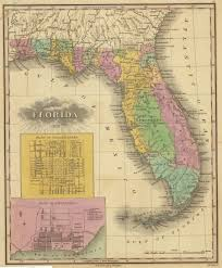 Map Of State Of Florida by When Florida Touched The Mississippi The Florida Memory Blog
