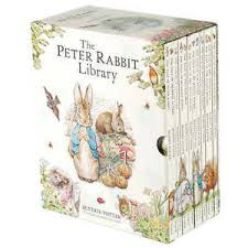 rabbit library the rabbit library 12 book box set by beatrix potter new