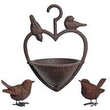 hanging bird feeder wren garden ornaments set gardens2you