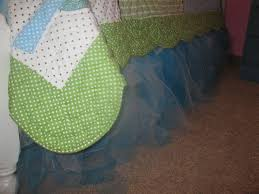 Crib Bed Skirt Diy Dot Dot Dot No Sew Crib Bedskirt Tutu Style