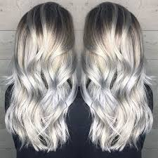 blonde hair with silver highlights hair color trends 2017 2018 highlights pale blonde to silver