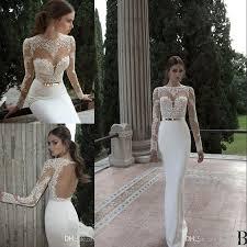 Wedding Dresses Discount 2017 Vestido De Noiva Berta Mermaid Wedding Dresses Cheap Spring