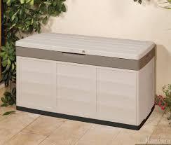 Outdoor Storage Bench Waterproof Outdoor Storage Garden Storage