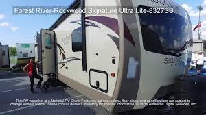 rockwood trailers floor plans forest river rockwood signature ultra lite 8327ss youtube