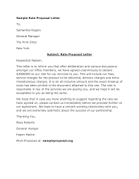 Business Proposal Letter Template Doc 600650 Free Sample Business Proposal Letter Doc Proposal