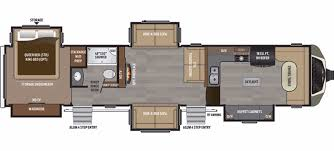 100 cougar 5th wheel floor plans used 2003 keystone rv
