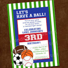 baby shower sports invitations birthday invites awesome sports birthday invitations designs free