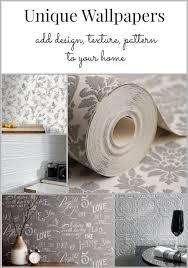 Paper Wallpaper by Best 25 Unique Wallpaper Ideas On Pinterest Living Room