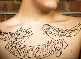 tattoo lettering gallery lovetoknow