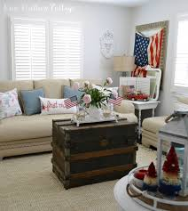 coastal cottage with a patriotic summer twist fox hollow cottage