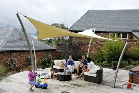 Sail Canopy Awning The Roller Tensile Solutions New Tensile Garden Sail
