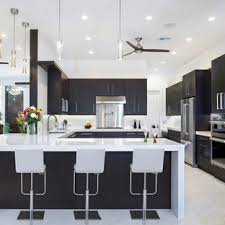 black kitchen cabinets with marble countertops 75 beautiful marble floor kitchen with black cabinets