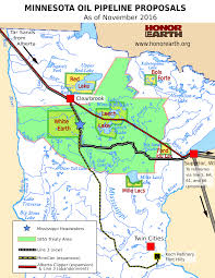 Keystone Xl Pipeline Map Line 3 Honor The Earth