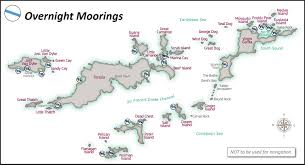 map of the bvi anchorages bvi mariner