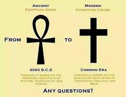 qubtic church on the original cross was the ankh