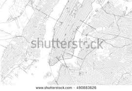 map of nyc streets new york city map free vector stock graphics images