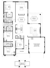 Floor Plans For Single Story Homes Australia House Plans Single Story Arts