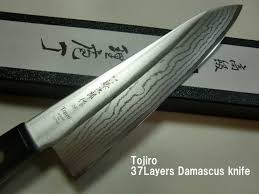 japanese kitchen knife tojiro dp vg10 damascus 37 layers gyutou 180mm