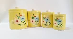 Yellow Canister Sets Kitchen 100 Kitchen Canisters Set Amazon Com Royal Albert Old With Yellow