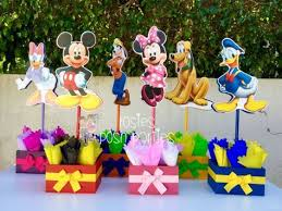 mickey mouse clubhouse birthday wood guest table