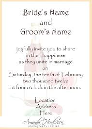 formal wedding invitation wording what do you write on a wedding invitation formal wedding