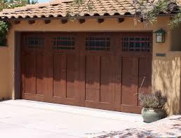 Style Garage by Wood Garage Doors Chandler Az Cedar Garage Doors