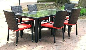 Outdoor Wicker Patio Furniture Sets Wicker Outdoor Dining Set Image Of Outdoor Patio Furniture