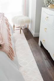 Off White Laminate Flooring A Soft Sweet U0026 Blush Worthy Bedroom Design By Havenly